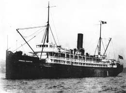 S.S. Admiral Sampson, lost off Point No Point, 1914